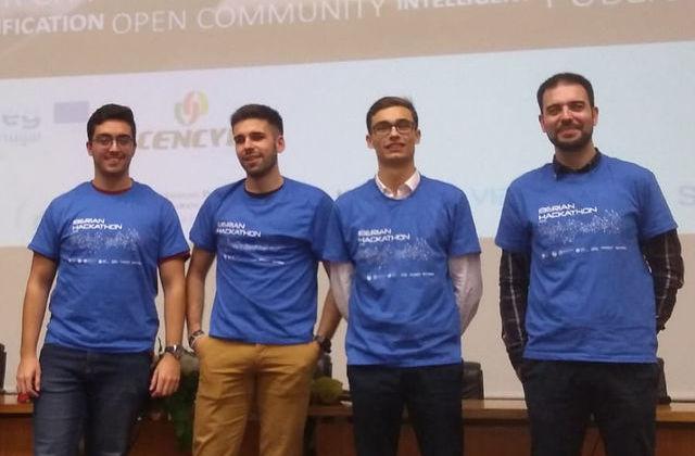 Projeto de segurança nas cidades vence Hackathon Ibérico em Viseu - Jornal do Centro